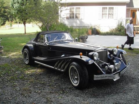 1979 Clenet Series II Roadster in Black