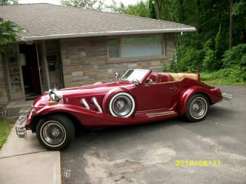 1981 Excalibur Series IV Phaeton  in Burgundy