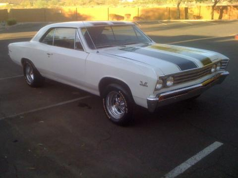 1967 Chevrolet Chevelle SS in White