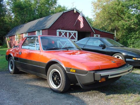 1983 Fiat X1/9
