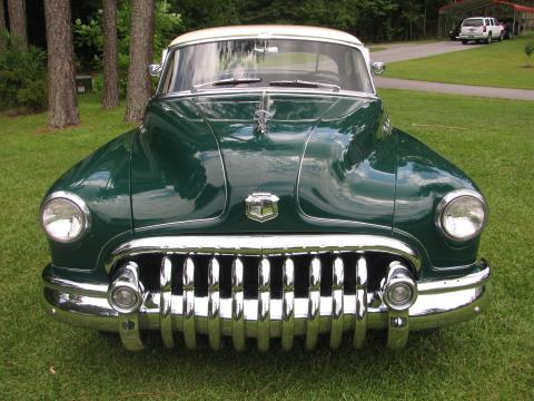 1950 Buick 50 Super Riviera 2 Door Hardtop in Green