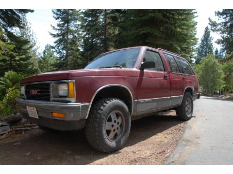 1992 GMC Jimmy SLT 4x4 in Red