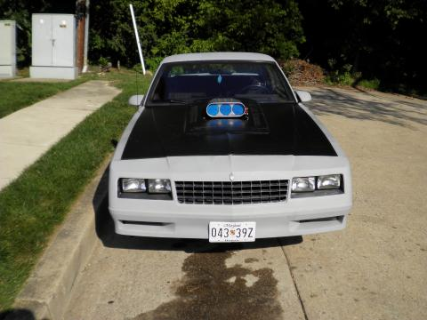1986 Chevrolet Monte Carlo SS SuperSport in Primer Gray
