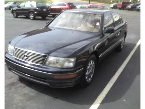 1995 Lexus LS 400 Sedan in Navy Blue