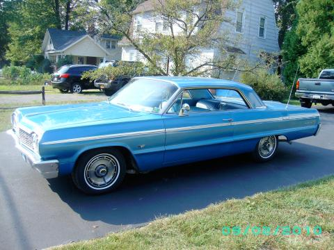 1964 Chevrolet Impala Sport Coupe in Marina Blue Metallic