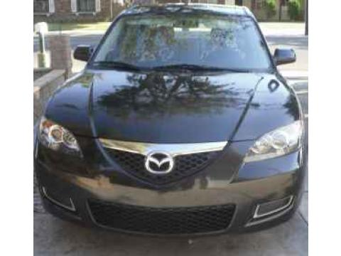 2008 Mazda MAZDA3 i Touring Sedan in Black Mica