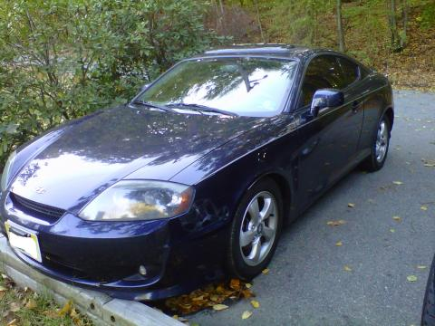 2006 Hyundai Tiburon GS in Moonlit Blue Metallic
