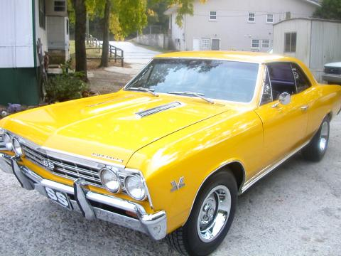 1967 Chevrolet Chevelle SS Clone in Yellow