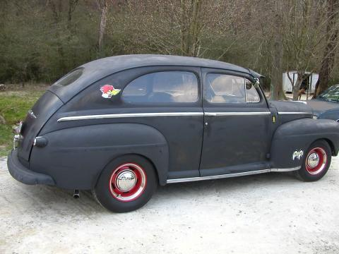 1948 Ford Tudor Street/Rat Rod in Black Primer