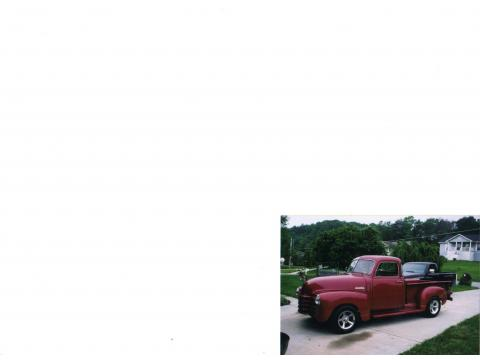 1949 Chevrolet Advance Design Series Truck 3100 in Dark Red