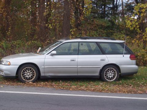 1999 Subaru Legacy GT Wagon in Quicksilver