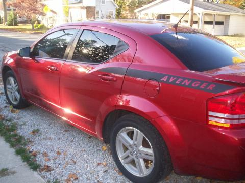 2008 Dodge Avenger SXT in Inferno Red Crystal Pearl