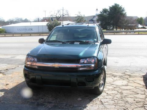 2005 Chevrolet TrailBlazer LS in Emerald Jewel Green Metallic