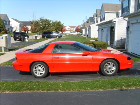 1996 Chevrolet Camaro RS Coupe in Bright Red
