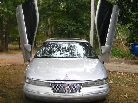 1995 Lincoln Mark VIII  in Silver Metallic