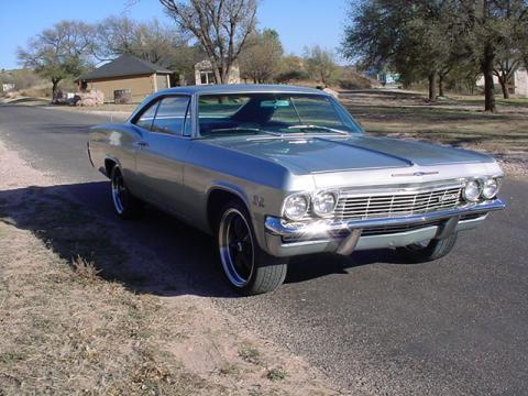 1965 Chevrolet Impala 396 2 Door Hardtop in Cortez Silver