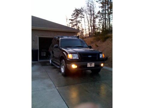 2001 Ford Explorer Sport in Black