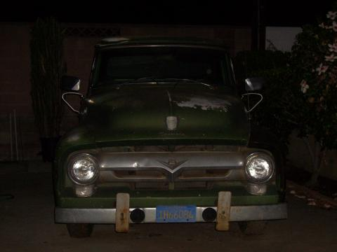1956 Ford F100  in Forest Green