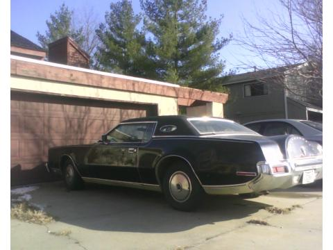 1973 Lincoln Continental Mark IV in Black