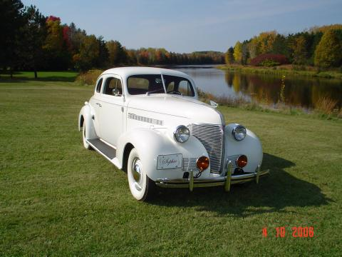 1939 Chevrolet Master Deluxe  Business Coupe in Elegant Ivory