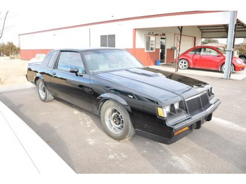 Buick Grand National Interior. Black 1986 Buick Regal Grand