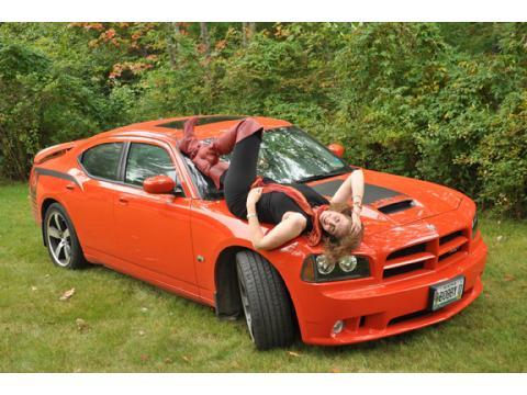 2009 Dodge Charger SRT-8 Super Bee in HEMI Orange Pearl