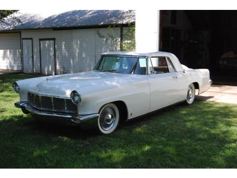 1956 Lincoln Continental Mark II in White