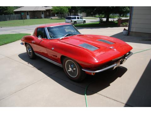 1963 Chevrolet Corvette Sting Ray Coupe in Riverside Red
