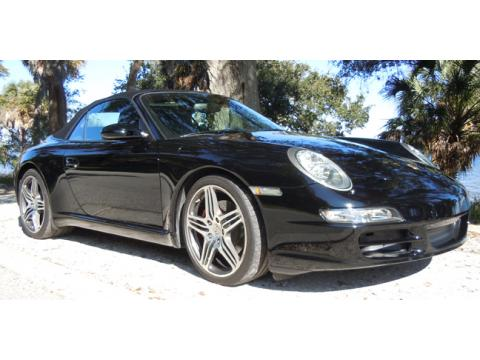 2008 Porsche 911 Carrera S Cabriolet in Black