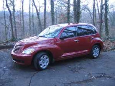 2006 Chrysler PT Cruiser  in Inferno Red Crystal Pearl