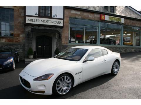 2009 Maserati GranTurismo  in Bianco Eldorado (White)