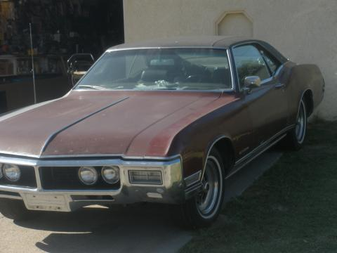 1969 Buick Riviera  in Dark Red