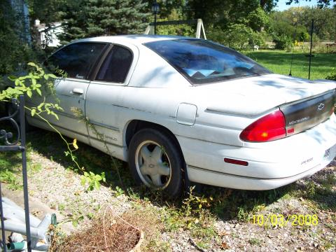 1996 Chevrolet Monte Carlo LS in Bright White