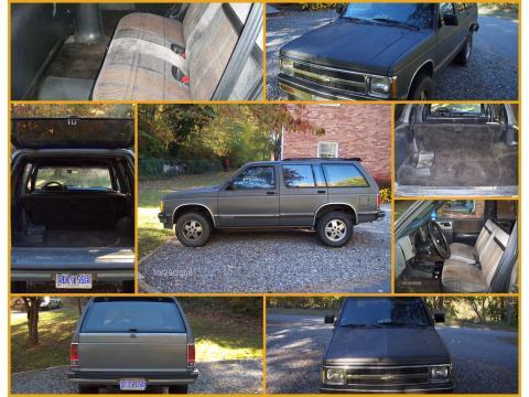 1991 Chevrolet Blazer  in Gray