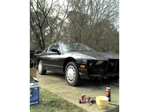 1991 Nissan 240SX Hatchback in Black