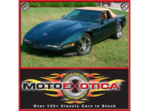 1991 Chevrolet Corvette Convertible in Polo Green Metallic