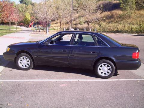 1997 Audi A6 2.8 quatto Sedan in Brilliant Black