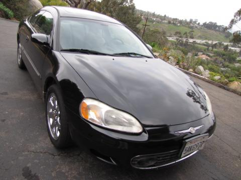 2002 Chrysler Sebring LXi Coupe in Black