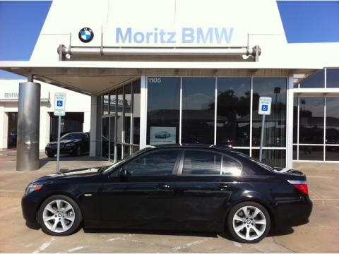 2006 BMW 5 Series 550i Sedan in Jet Black