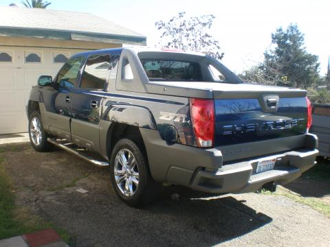 2002 Chevrolet Avalanche Z71 4x4 in Indigo Blue Metallic