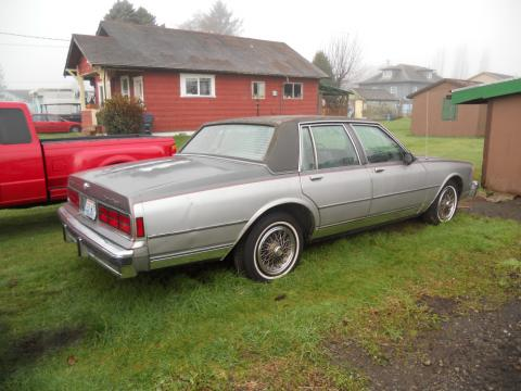 1986 Chevrolet Caprice Classic in Silver