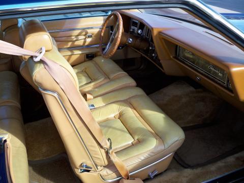 1977 Lincoln Mark V Bill Blass Edition in Midnight Blue Metallic