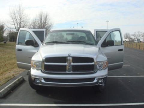 2003 Dodge Ram 1500 SLT Quad Cab in Bright Silver Metallic