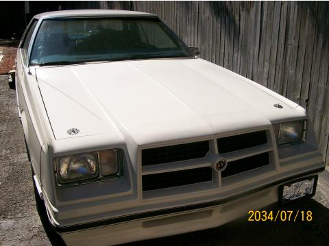 1981 Chrysler Cordoba LS in White