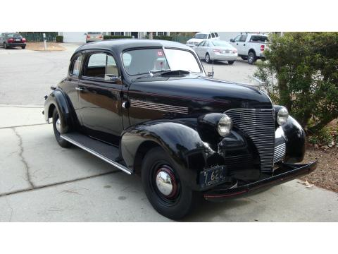 1939 Chevrolet Master Deluxe  Business Coupe in Black