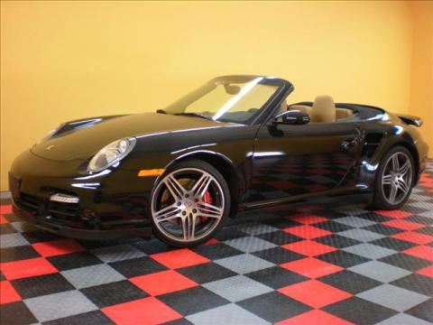 2008 Porsche 911 Turbo Cabriolet in Black