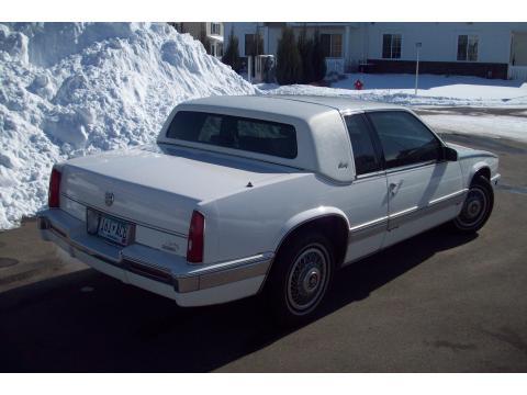 1988 Cadillac Eldorado Biarritz Coupe in White