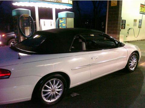 2001 Chrysler Sebring LXi Convertible in Stone White