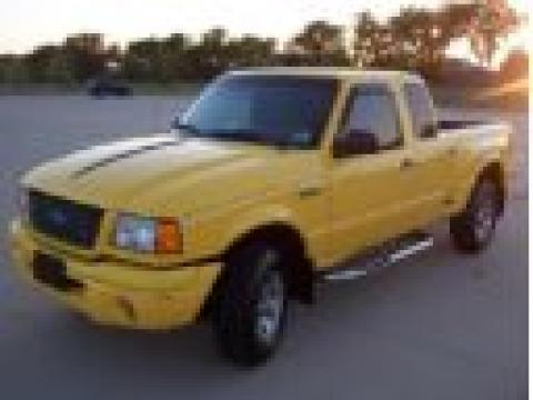 2002 Ford Ranger Edge SuperCab in Chrome Yellow