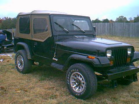 1990 Jeep Wrangler CJ in Black